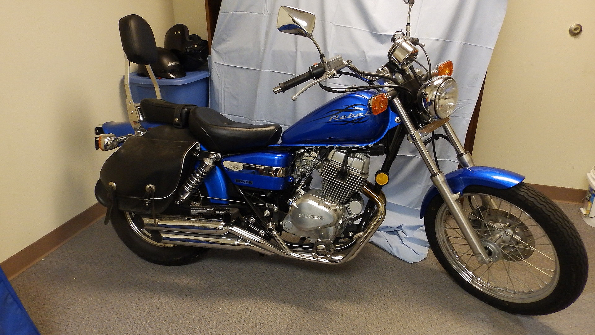 Attractive 2009 Honda Rebel CMX250C Raffle! Rikkiu0027s Refuge Is Raffling A Motorcycle!  OLYMPUS DIGITAL CAMERA