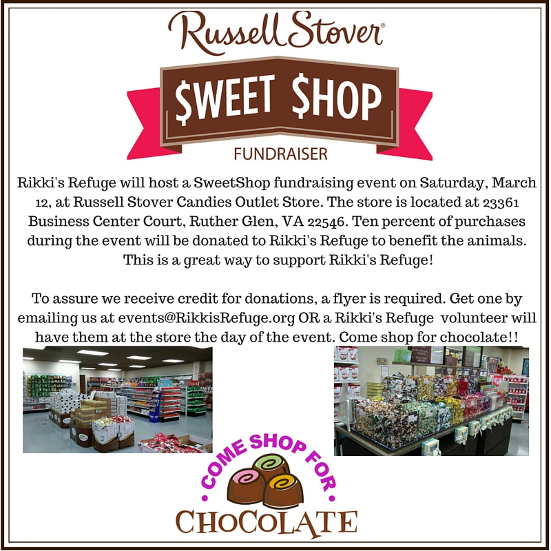 Russell Stover Fundraiser 3-12-16